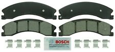 Disc Brake Pad Set-Blue Brake Pads with Hardware Front,Rear Bosch BE1565H