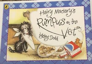 Hairy Maclary Rumpus At The Vet By Lynley Dodd Paperback - Free Post