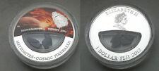 Neuschwanstein METEORITE coin! $1 Fiji! Rare Plated Version! Cosmic Fireballs