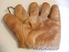 1930's Chuck Klein Draper & Maynard Lucky Dog D&M model S6 splitfinger glove