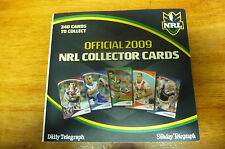2009 NRL COLLECTORS CARDS