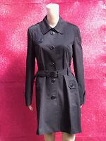 Saba Women's Black Trench Coat size (AUS) 12 (INT) M, (UK) 12 (EUR) 40 (US) 8.