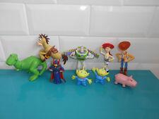 18.5.6.1 Lot 9 Figurines TOY STORY Woody Buzz Bayonne alien Jessie Disney