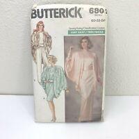 Butterick Sewing Pattern 6801 Sz 20-24 Jacket Top Skirt Pants Uncut 1988