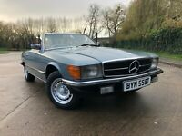 1979 Mercedes-Benz SL 350 V8 R107 Barn find