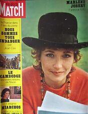 PARIS MATCH N° 1097 de 1970 MARLENE JOBERT / CAMBODGE NIXON / REIMS 8 MAI 1945