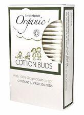 Simply Gentle Bio-Baumwolle Stecker Pack 200 Teile - (Packung von 2)