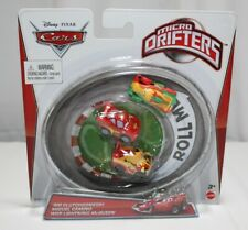 RIP CLUTCHGONESKI MIGUEL CAMINO WGP MCQUEEN DISNEY CARS MICRO DRIFTERS NEW 2012