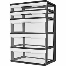 Sterilite 29329001 5-Drawer Tower