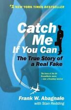 CATCH ME IF YOU CAN by Frank W Abagnale FREE SHIPPING paperback book memoir film