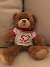 "NEW TEDDY BEAR 8""& BEST VALENTINES DAY GIFT"