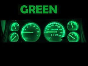 Gauge Cluster LED Dashboard Bulbs Green For Jeep 84 96 Cherokee Wagoneer