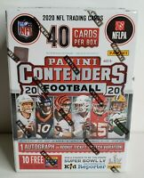 2020 PANINI CONTENDERS Football NFL BLASTER BOX! Brand New! Prizm Donruss 👀🔥