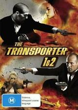 The TRANSPORTER 1 and 2 Jason Statham DVD R4 PAL