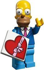 LEGO THE SIMPSONS SERIES 2 HOMER SIMPSON MINI FIGURE 100% COMPLETE DATE NIGHT