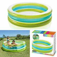 Children Intex Inflatable Swimming Pool Round Outdoor Indoor 2.03m x 51cm AL