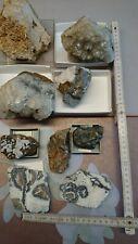 Mineralien, Sammlung, Harz, Grube Hilfe Gottes, Quarz, Baryt