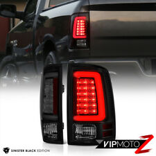 {DARKEST SMOKE} 2013-2018 RAM 1500 2500 3500 LED Tail Lamps Lights Replacement