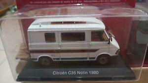 Collection  Camping Car 1/43 Citroën  C 35 Notin 1980