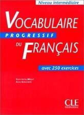 Vocabulaire Progressif Du Francais avec 250 exercices Niveau Intermediate  Fr