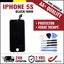 AA+ LCD SCREEN DISPLAY SCHERM ÉCRAN BLACK NOIR &VERRE TREMPÉ+TOOLS FOR IPHONE 5S