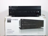 NAD C375 BEE Stereo Integrated Amplifier  MDC DAC USB2.0 MODULE FITTED