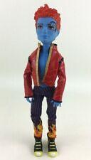 First Wave Monster High Holt Hyde Boy Action Figure Doll Blue Face Tattoo Mattel