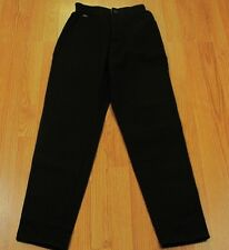 Vtg LEE Side Elastic Waistband Double Black High-Waisted Jeans - Size 4M Mom NEW