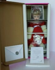 NEW AND NRFB COA #563 MARIE OSMOND SCARLET CLASSIC BEAUTY PORCELAIN DOLL