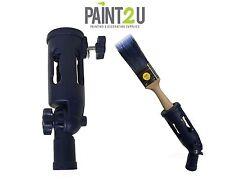 EXTENSION POLE PAINT BRUSH HOLDER   Screw On Paint Brush & Tool Holder Adapter