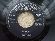 Elvis Presley - Guitar Man / Hi Heel Sneakers  - RCA 1663 VG+ Jukebox ready