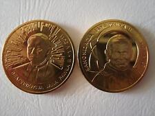 polskie monety/polish coins zestaw 2zł,Gn,beatyfikacja+kanonizacja,JPII