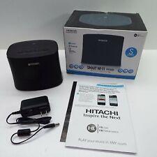 Hitachi W50 Wi-Fi Smart Wireless Speaker Black (LOOK DESCRIPTION) T20