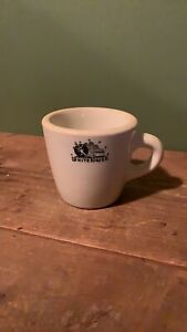 White Tower Restaurant Coffee Cup Sterling China c.1930's - 50's