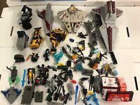 Transformers Figure Parts and Accessories Lot Hasbro