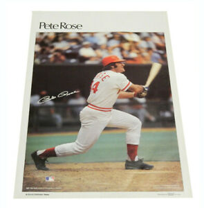 "1978 Sports Illustrated Poster Pete Rose Measures 24"" X 36"""