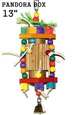 Parrot Bird Cage Toy Parrot Play Box for mini macaw amazon quaker electus goffin