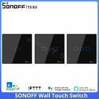 Sonoff T3 EU Smart Wall Touch Switch Wireless RF Wifi APP Remote Voice Control
