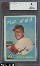 1959 Topps #150 Stan Musial St. Louis Cardinals HOF BVG 5 EX