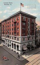Norfold Virginia~Loraine Hotel~1910 To Lloyd Winslow, Greenville NC