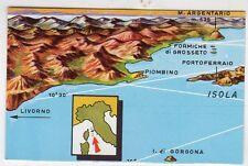 figurina TUTTA ITALIA FOL. BO SERIE NUMERO 1 NEW N. 287 ARCIPELAGO TOSCANO