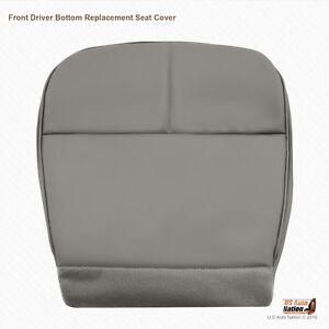1996 1997 Ford E350 E450 Econoline Van Front Driver Bottom GRAY VINYL Seat Cover