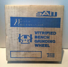 Sait Vitrified Bench Grinding Wheel 28102  6 X 3/4 X 1  *NIB