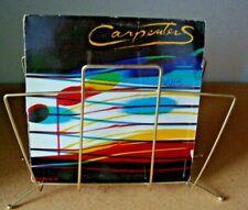 2 - Album Record Rack Mid Century Modern Vintage Retro