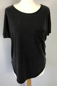 F&F Size 10 Charcoal Grey Gym Tshirt Workout Ladies Fitness Running Autumn
