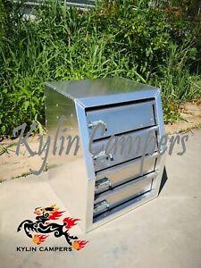 Aluminium Toolbox Drawers/ Ute Canopy Drawer inserts/ 4 Layered Drawer Module