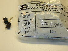 18 mH Bourns RLB series inductor 27 mA 76 Ohms DCR