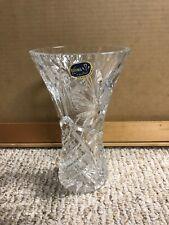 """Bohemia Crystal Vase 8"""""""