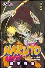 manga Naruto Tome 52 Shonen Masashi Kishimoto Neuf 2014 Nekketsu kana Shûeisha