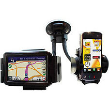 Streetwize in Car Twin Gadget iPhone Mobile Phone SAT NAV Mp3 Holder - SWGH2